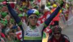 Video «Die Königsetappe der Tour de Suisse» abspielen