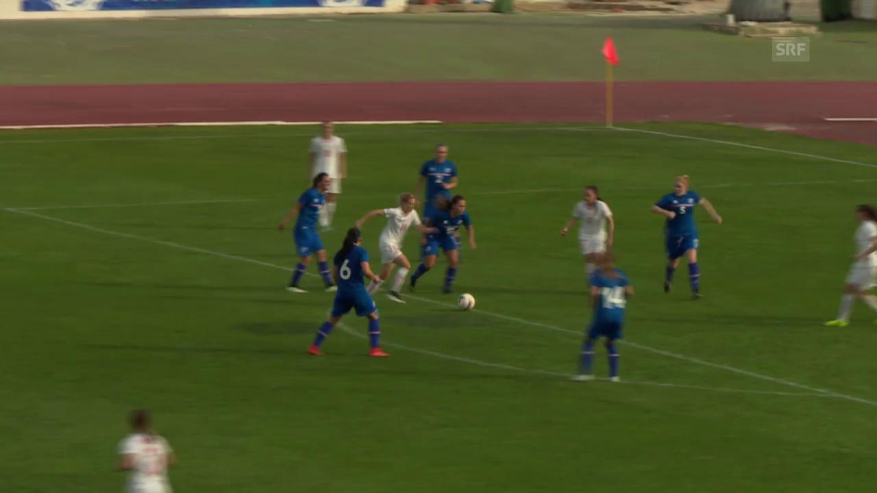 Fussball: Algarve Cup, Schweiz - Island