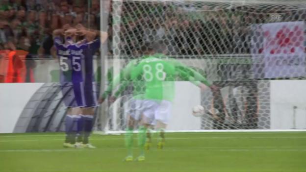 Video «St. Etienne gleicht in extremis aus» abspielen