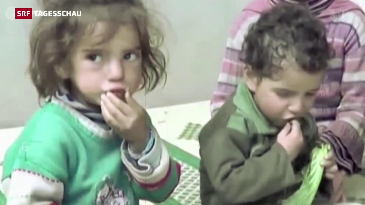 Appell für humanitäre Hilfe in Syrien