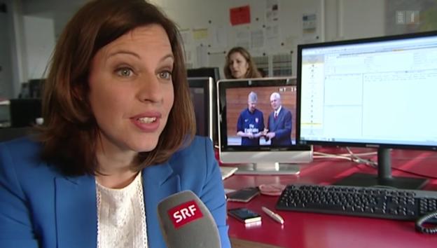 Video «Andrea Vetsch: Neue Moderatorin bei «10vor10»» abspielen