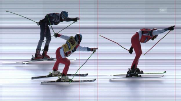 Video «Skicross: Der Finallauf in Idre» abspielen