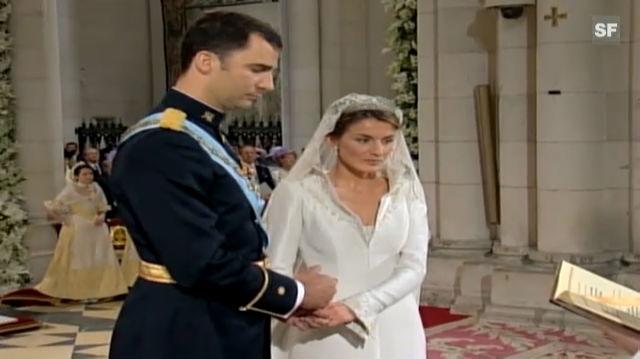 Prinz Felipe und Prinzessin Letizia (Hochzeit)