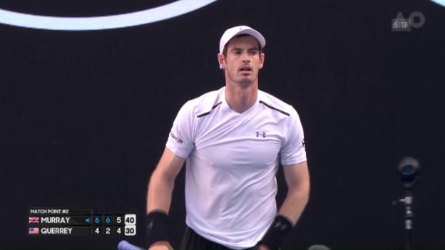 Video «Murray - Querrey: Die wichtigsten Punkte (SNTV)» abspielen