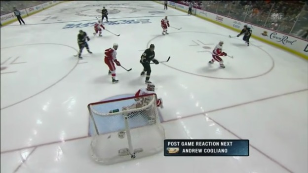 Video «Highlights Anaheim - Detroit» abspielen