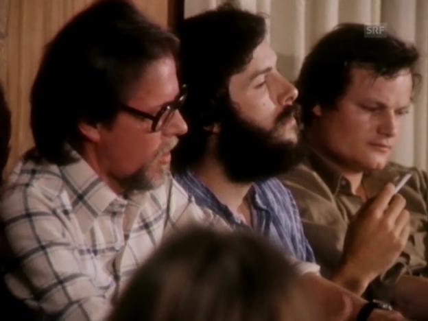 Video «Otto F. Walter und Rolf Niederhauser bei den «1. Literaturtagen»» abspielen