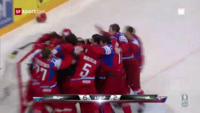 WM 2012: Highlights Russland - Slowakei («sportlive»)
