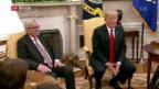 Video «FOKUS: Jean-Claude Juncker trifft Donald Trump» abspielen