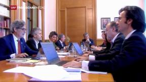Video «Carles Puigdemont droht Haftbefehl» abspielen