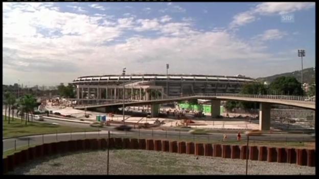 Video «Brasilien rüstet sich für Confed Cup und WM.» abspielen