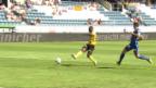 Video «Zusammenfassung Luzern - Young Boys» abspielen