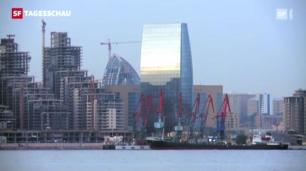 Video «Aserbaidschan will glänzen» abspielen