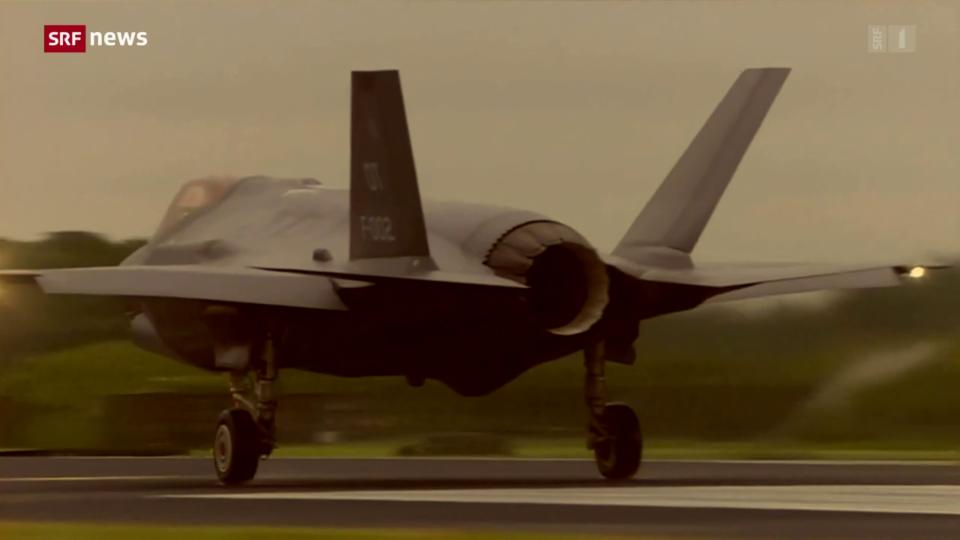 Kritikpunkt Datensicherheit bei Kampfjet F-35