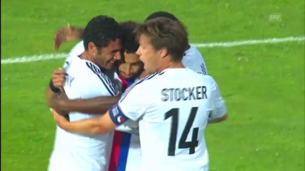 Video «Die Highlights von Ludogorets - Basel («sportlive»)» abspielen