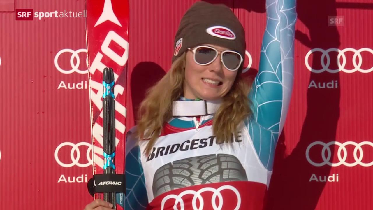 Ski: Slalom der Frauen in Are
