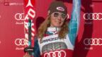 Video «Ski: Slalom der Frauen in Are» abspielen