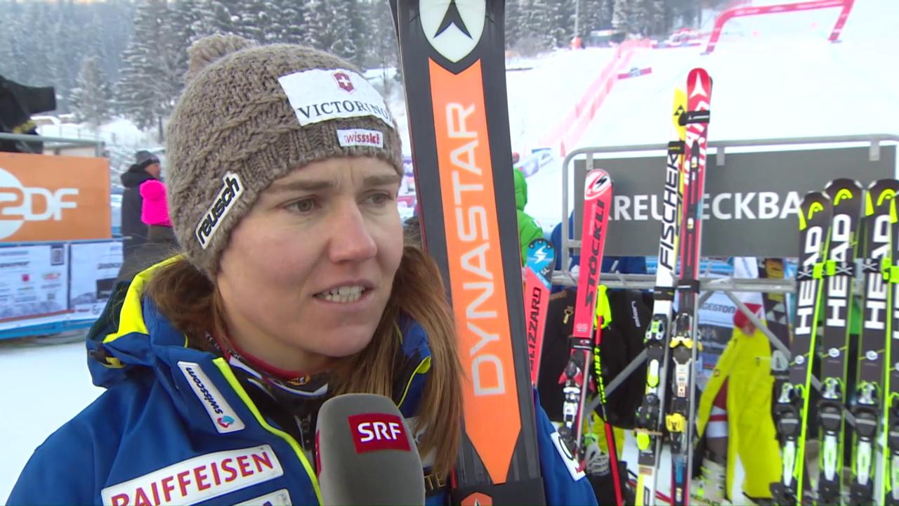 Was Fabienne Suter in Garmisch nervös macht