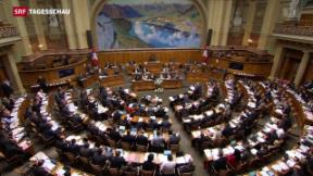 Video «Unternehmenssteuern: Bürgerliche setzen sich durch» abspielen