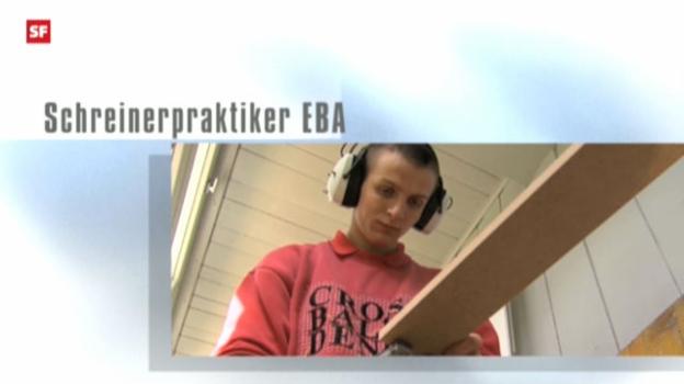Video «Berufsbild: Schreinerpraktiker EBA» abspielen