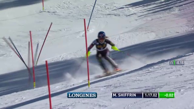 Ski: SL Lenzerheide 2. Lauf Shiffrin
