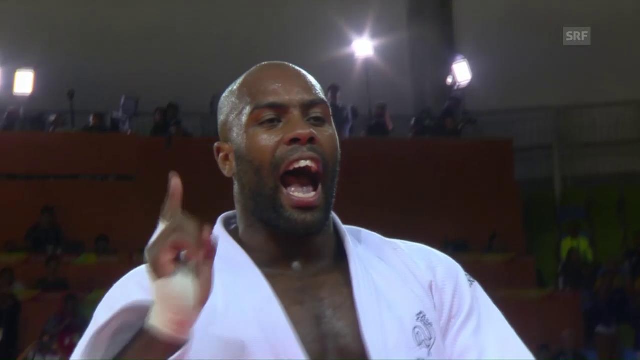 Judo-Superstar Teddy Riner schlägt wieder zu
