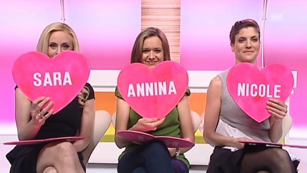 Video ««Ich oder die Anderen» mit Nicole, Sara & Annina» abspielen