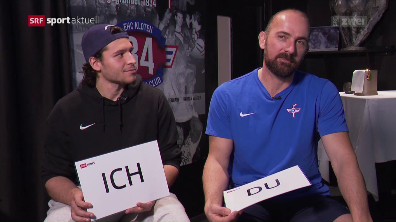 Gerber und Boltshauser im «Ich oder Du»