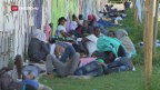 Video «Verschärfte Flüchtlingslage in Norditalien» abspielen