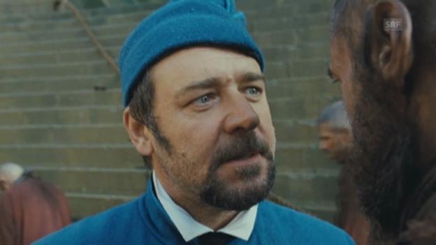 Video «Russel Crowe und Hugh Jackman im Duett» abspielen