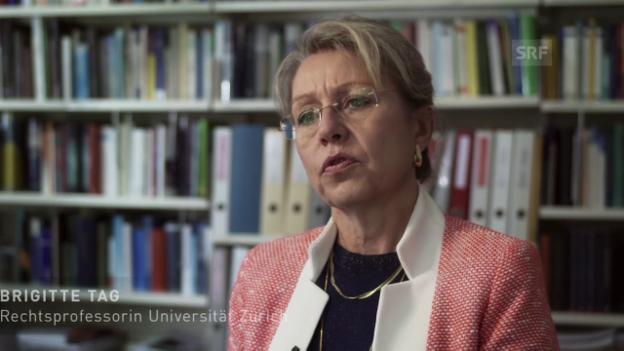 Video «Rechtsprofessorin Brigitte Tag über Emilie Kempin-Spyri.» abspielen