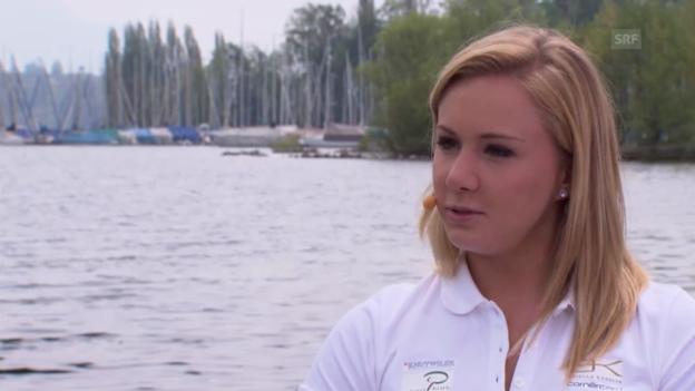 Video «Gespräch mit Ariella Käslin («sportlounge»)» abspielen