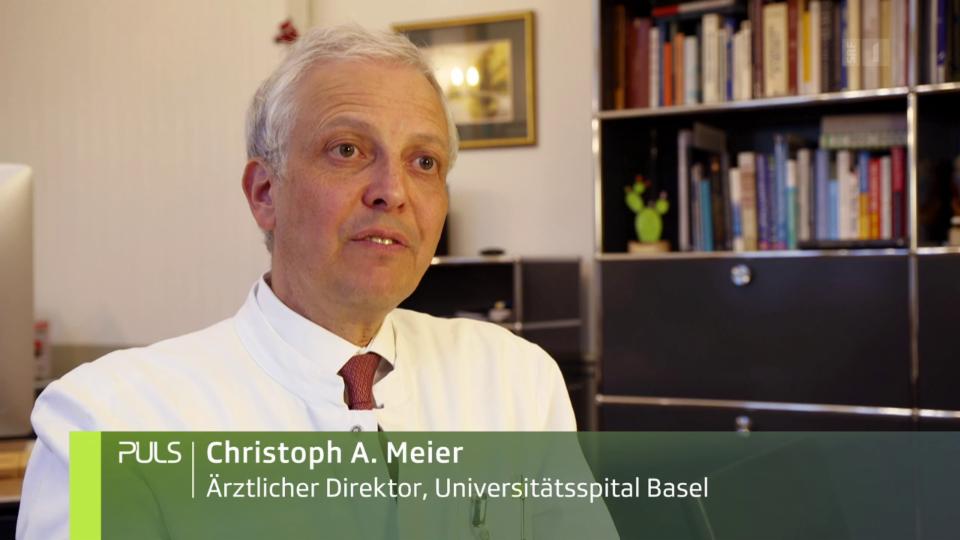 Christoph Meier: «Es ist wichtig Innovation zuzulassen. Aber sie mit Studien begleitet, bis man eine grosse Sicherheit hat, dass die Innovation einen Mehrwert hat.»