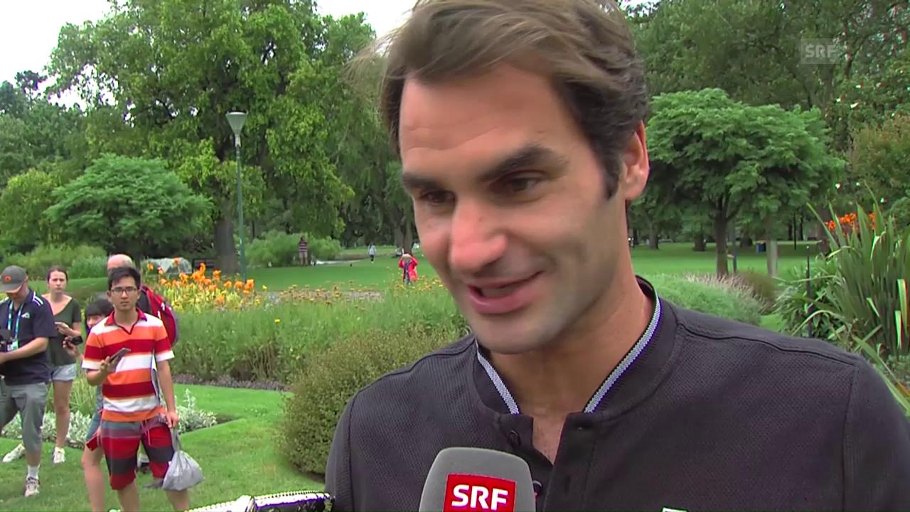 Federer: «Ich habe noch viel Lust zu spielen»