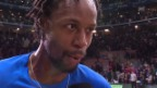 Video «Tennis: Davis Cup, Gaël Monfils» abspielen