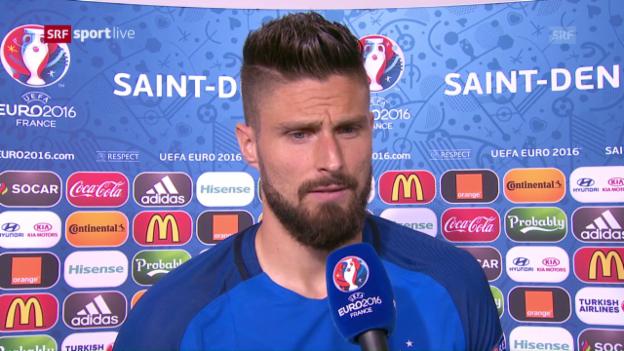 Video «Giroud: «Unsere Vorstellung hat gestimmt»» abspielen