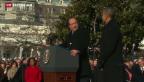 Video «Salutschüsse für François Hollande» abspielen