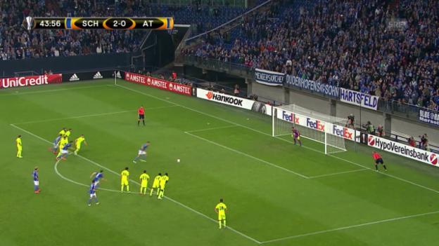Video «Fussball: Europa League 2015/16, 2. Gruppenspiel, Schalke – Asteras Tripolis» abspielen