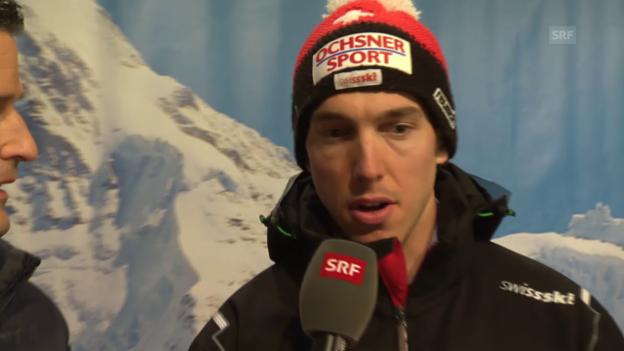Video «Ski alpin: Weltcup, Carlo Janka im Interview Wengen» abspielen