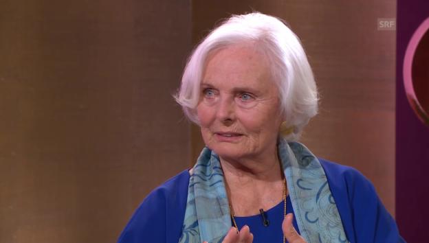 Video «Ruth Maria Kubitschek über ihren Neubeginn» abspielen