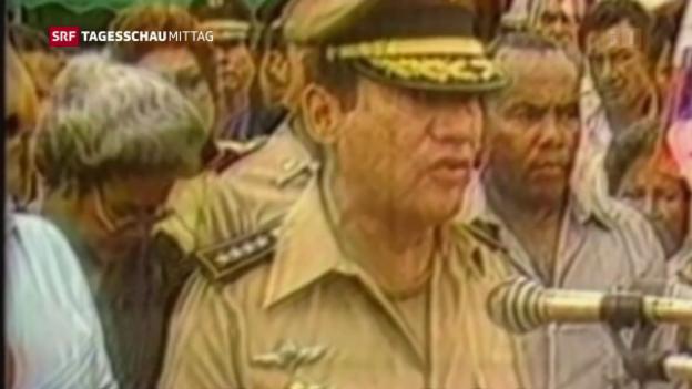 Video «Manuel Noriega gestorben» abspielen