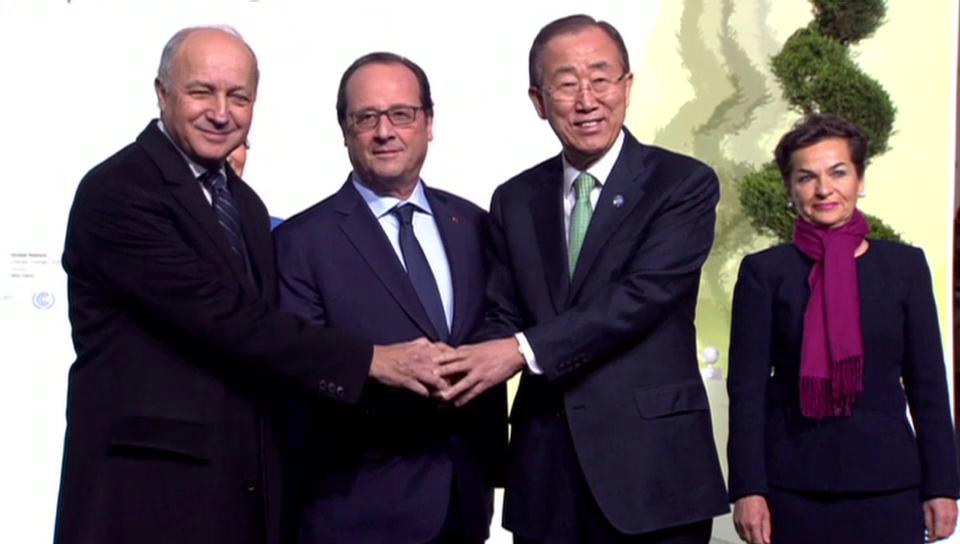 Posen fürs Klima (unkommentiert)