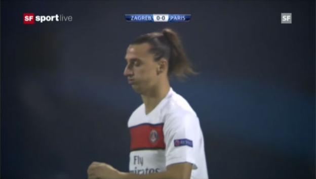 Video «CL: Dinamo Zagreb - PSG» abspielen