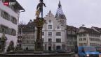 Video «Ärgerliche Panne in der Stadt Zug» abspielen