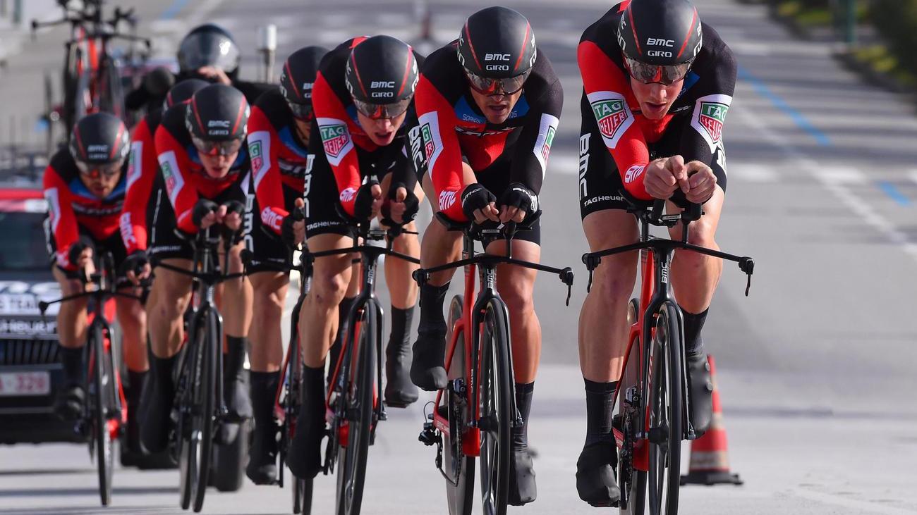BMC-Team gewinnt das Teamzeitfahren
