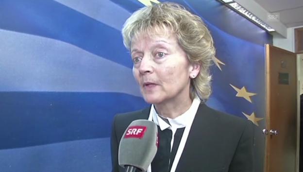 Video «Stand der Verhandlungen mit Griechenland» abspielen