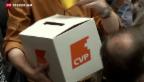 Video «CVP erkennt Verbesserungs-Potential» abspielen