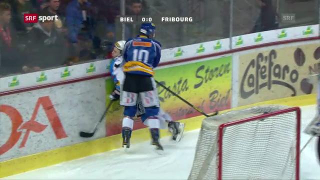 NLA-Playoffs: Biel - Fribourg