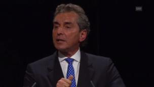 Video «Michel Friedman, Experte der Anklage zu Multikulturalismus und rassistischer Rhetorik» abspielen