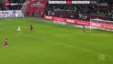 Video «Fussball: Wolfsburg - Bayern» abspielen