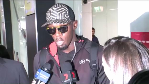 Video «Bolt nach Medaillenrückgabe: «Ich bin nicht traurig»» abspielen